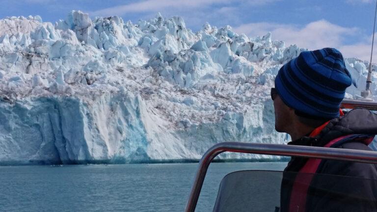 Eismassen wohin man blickt