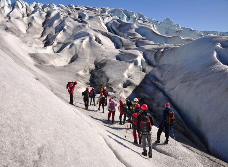 Unendliche Gletscherlandschaften erkunden