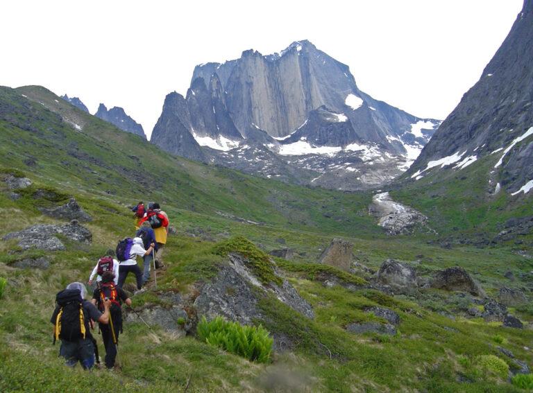 Wanderung in spektakulärer Umgebung