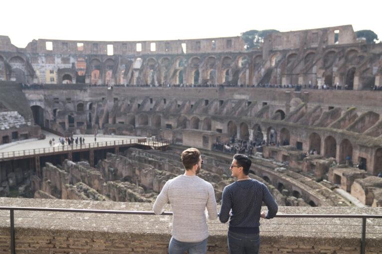 Auf Zeitreise im Kolosseum