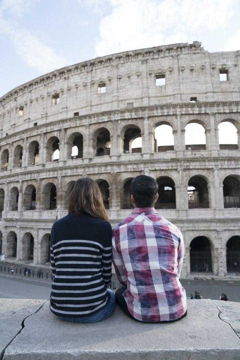 An den antiken Bauwerken kann man sich nur schwer satt sehen