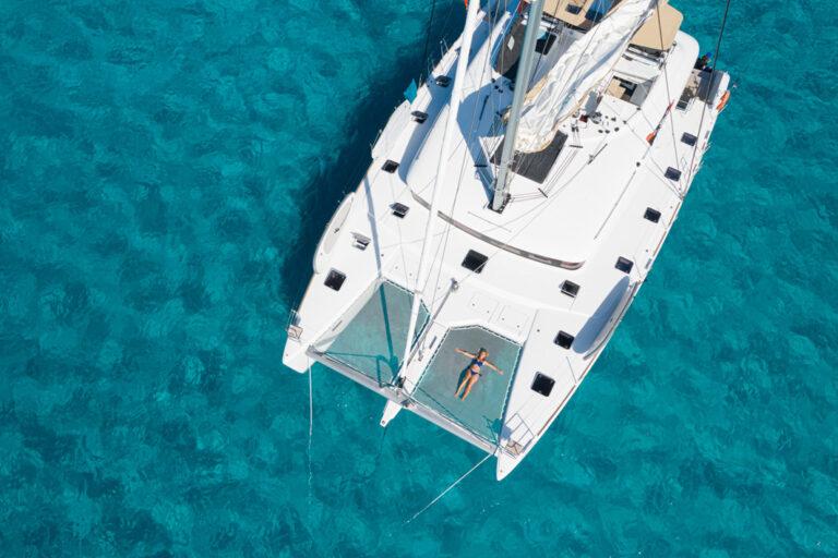 Relaxen an Bord der Lagoon 620