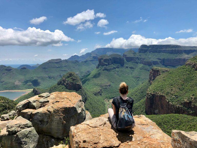 Blick in den fantastischen Blyde River Canyon