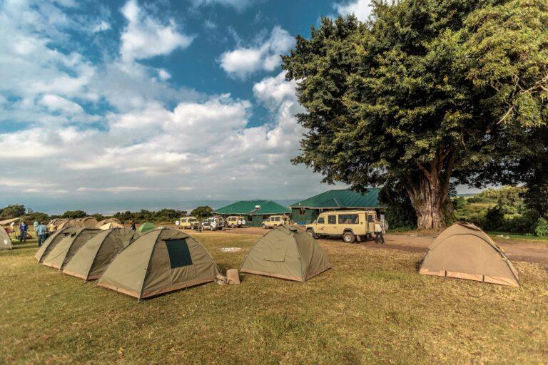 Camp in Afrika