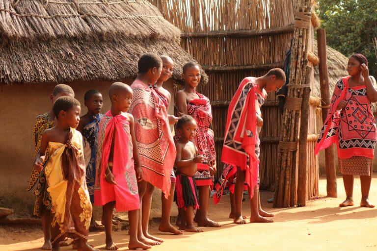 Eswatini - Besuch eines traditionellen Dorfes
