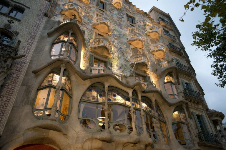 Gaudi hat sich überall in der Stadt verewigt