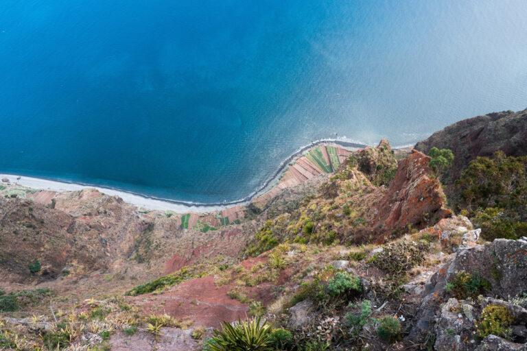 Aussicht vom gläsernen Skywalk Cabo Girão