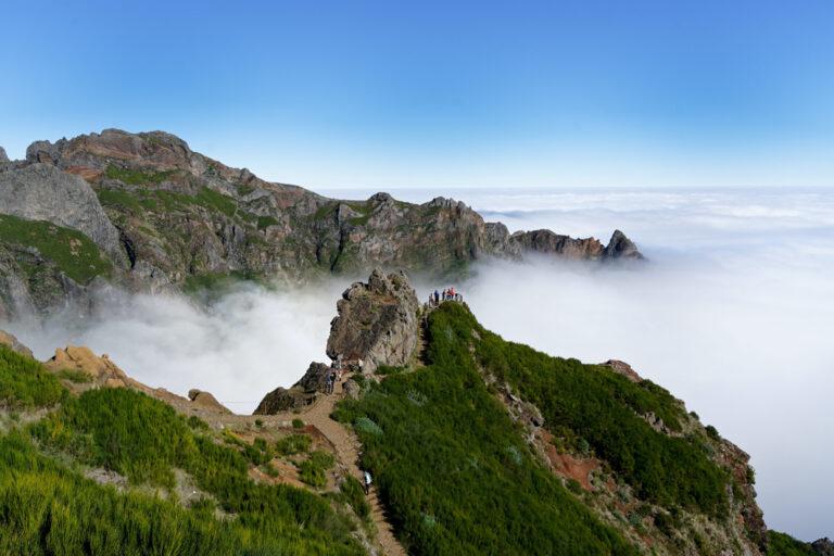 Über den Wolken auf dem Pico do Arieiro