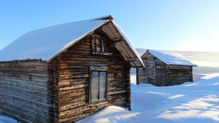 Reise nach Finnland: das finnische Lappland im Winter
