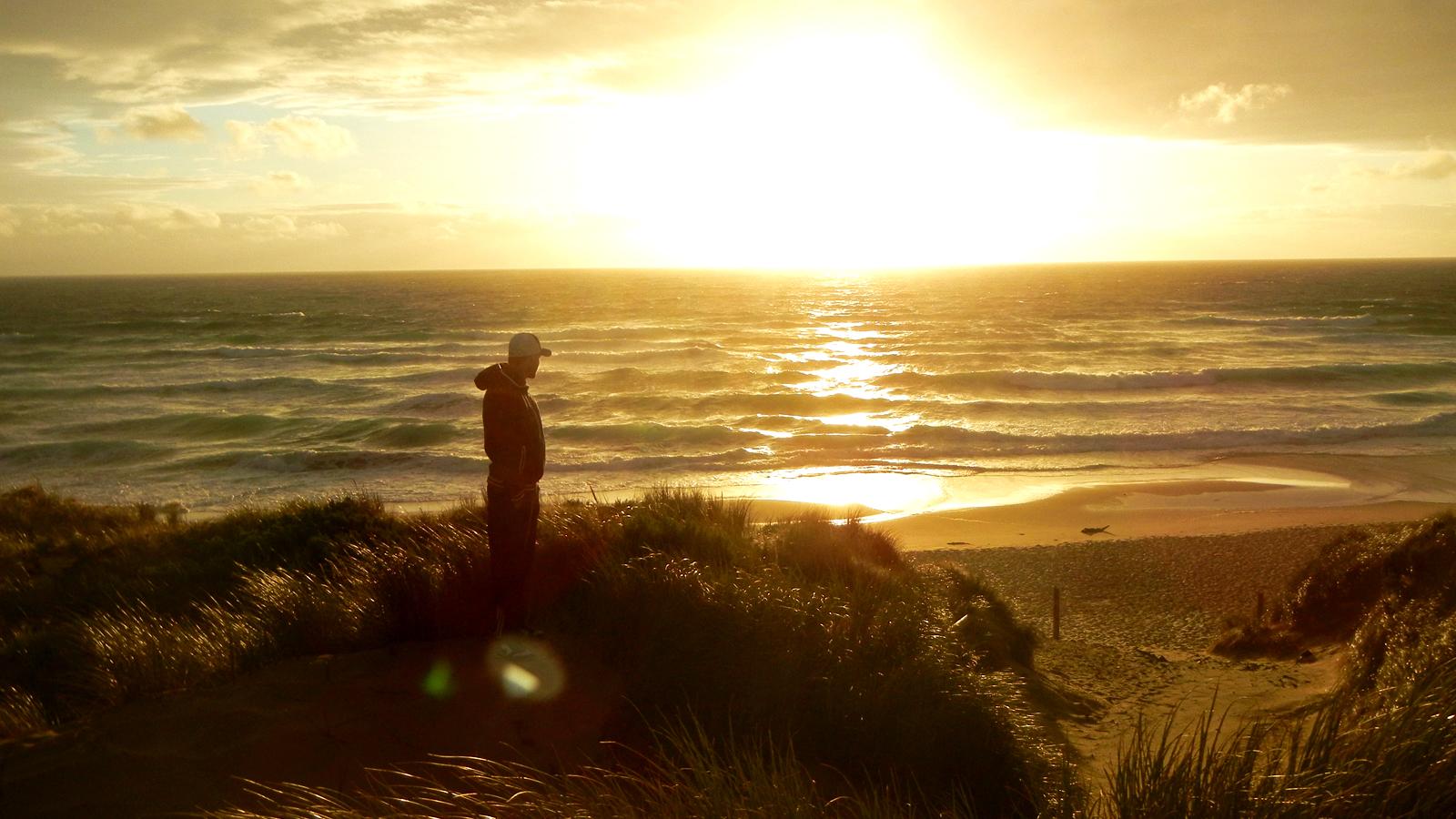 Australien Strände Sonnenuntergang Ostküste traveljunkies Reisen für junge Leute