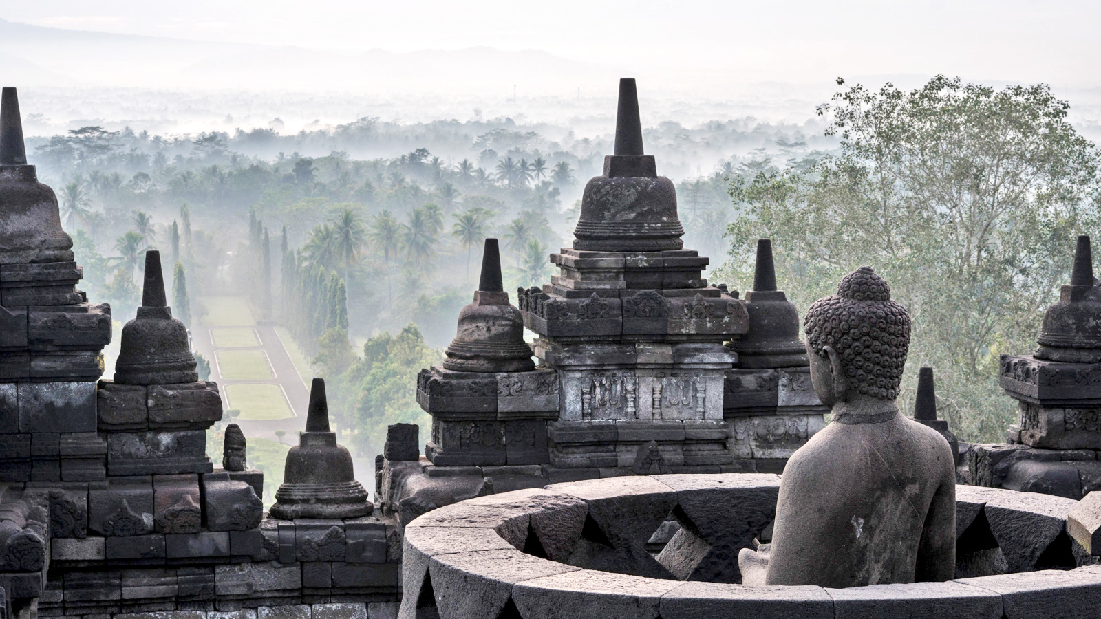 Borobudur Jave Indonesien Erlebnisreise traveljunkies