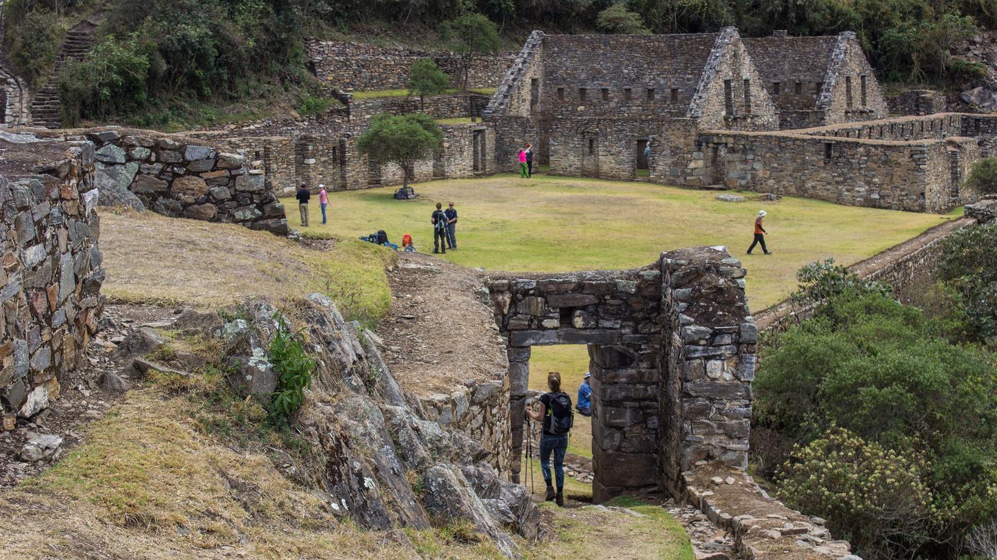 Choquequirao Trekking nach Machu Picchu Peru Aktivreise in der Gruppe traveljunkies