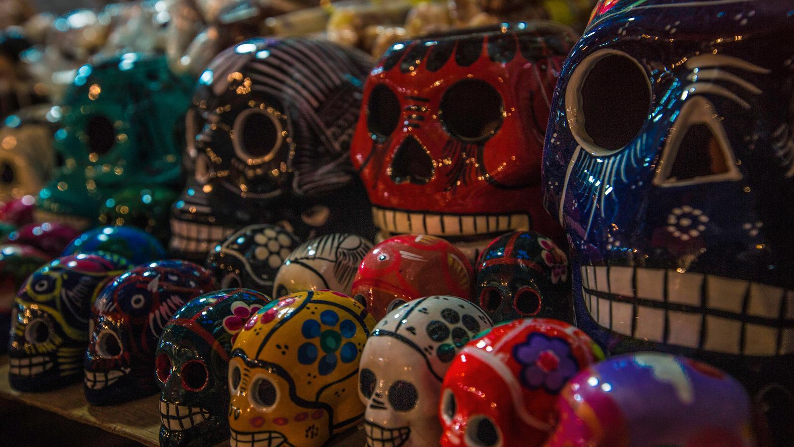 Dia de los Muertos, the Day of the Death Tag der Toten in Mexiko Reise für junge Leute Mittelamerika preiswert reisen traveljunkies