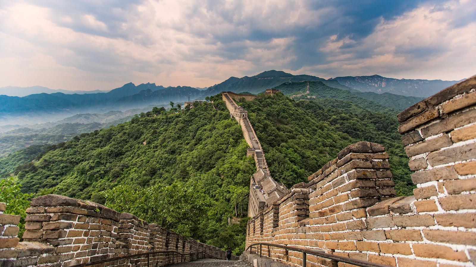 Große Chinesische Mauer China Wanderreise in der Gruppe traveljunkies