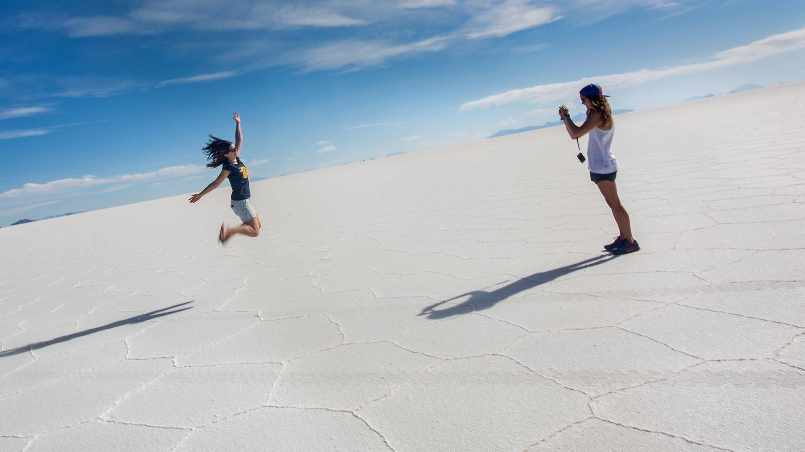 Gruppenreise für junge Leute durch Südamerika