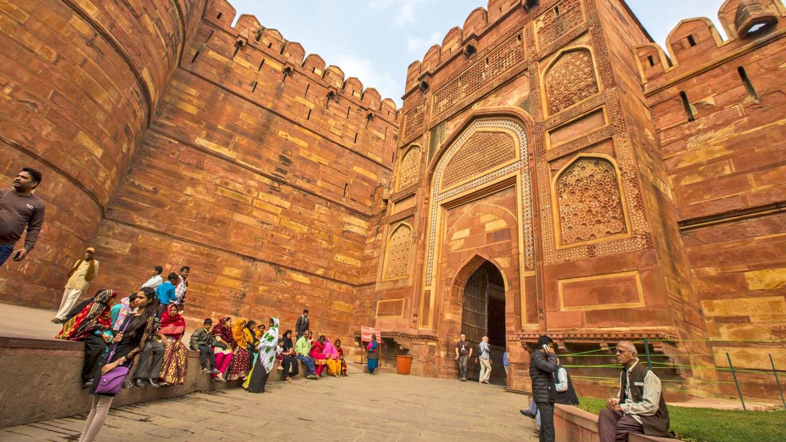 Indien Reisen für junge Leute in der Gruppe traveljunkies