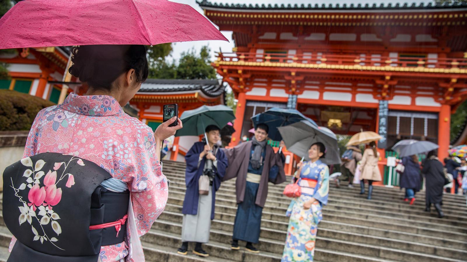 Japan Reise für junge Leute in der Gruppe traveljunkies