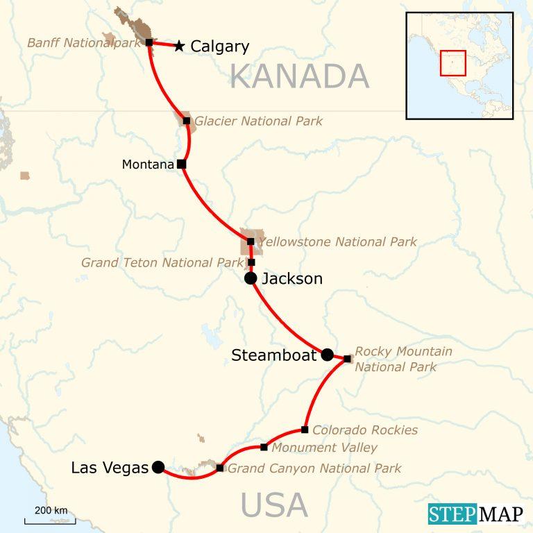 Abenteuerreise durch die Rocky Mountains   traveljunkies.tours
