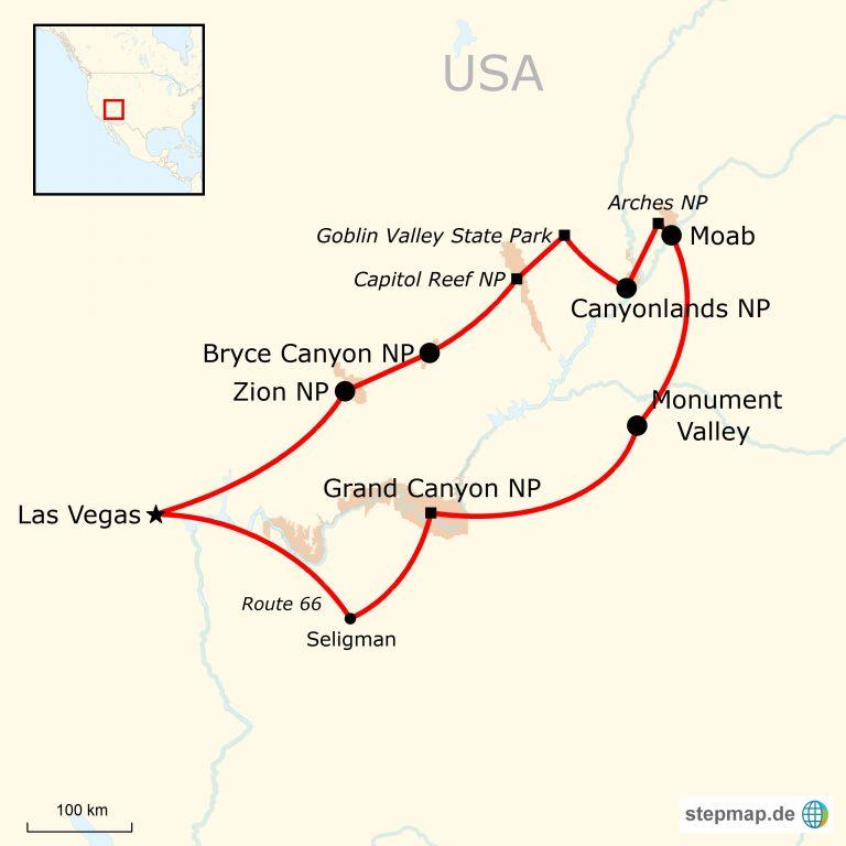USA Canyon Abenteuerreise für junge Leute | traveljunkies.tours
