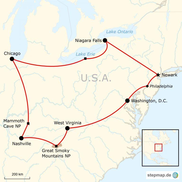 Das Beste Vom Osten Der Usa Traveljunkies Tours
