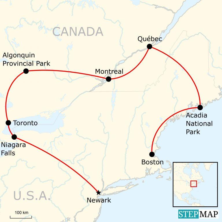 Das Beste Von Kanadas Ostkuste Traveljunkies Tours