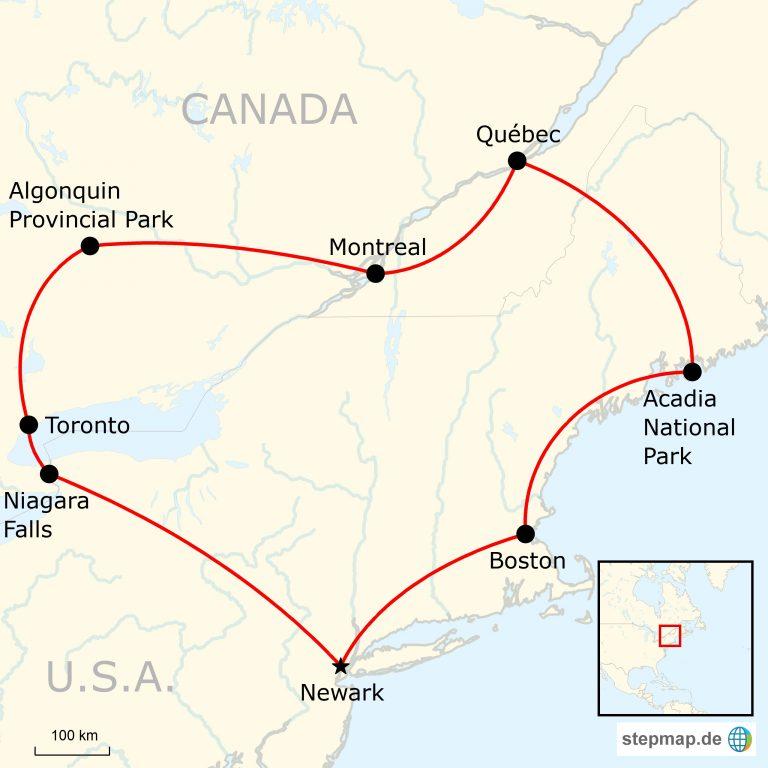 Das Beste von Kanadas Ostküste | traveljunkies.tours