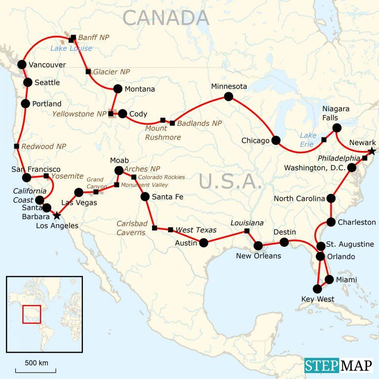 Roadtrip Kanada & USA allumfassend | traveljunkies.tours