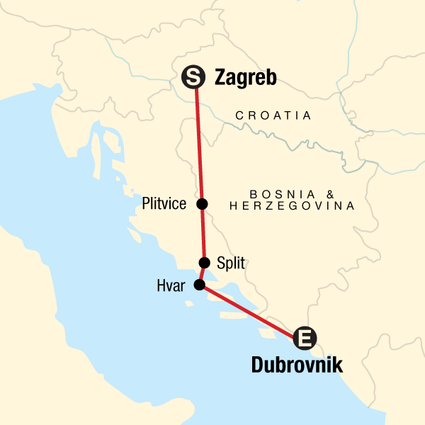 Erlebnisreise Kroatien Von Zagreb Nach Dubrovnik Traveljunkies Tours