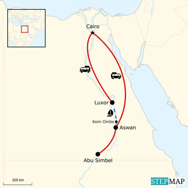 Magisches Agypten Abenteuerreise Von Den Pyramiden Bis An Den Nil
