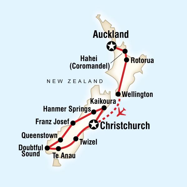 Highlights von Neuseeland | traveljunkies.tours