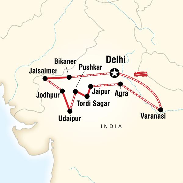Nordindien Intensiv - Preiswert Reisen