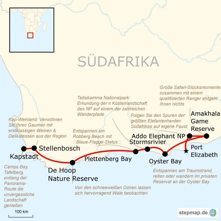 Karte Südafrika Garden Route.Südafrika Auf Eigene Faust Entlang Der Garden Route Traveljunkies