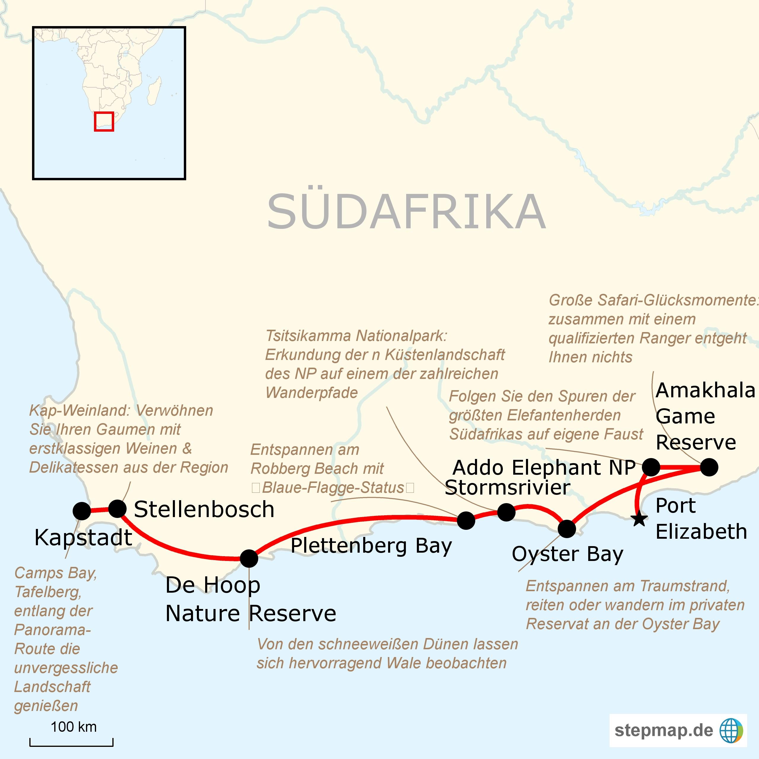 sudafrika auf eigene faust entlang der garden route With katzennetz balkon mit garden route tours
