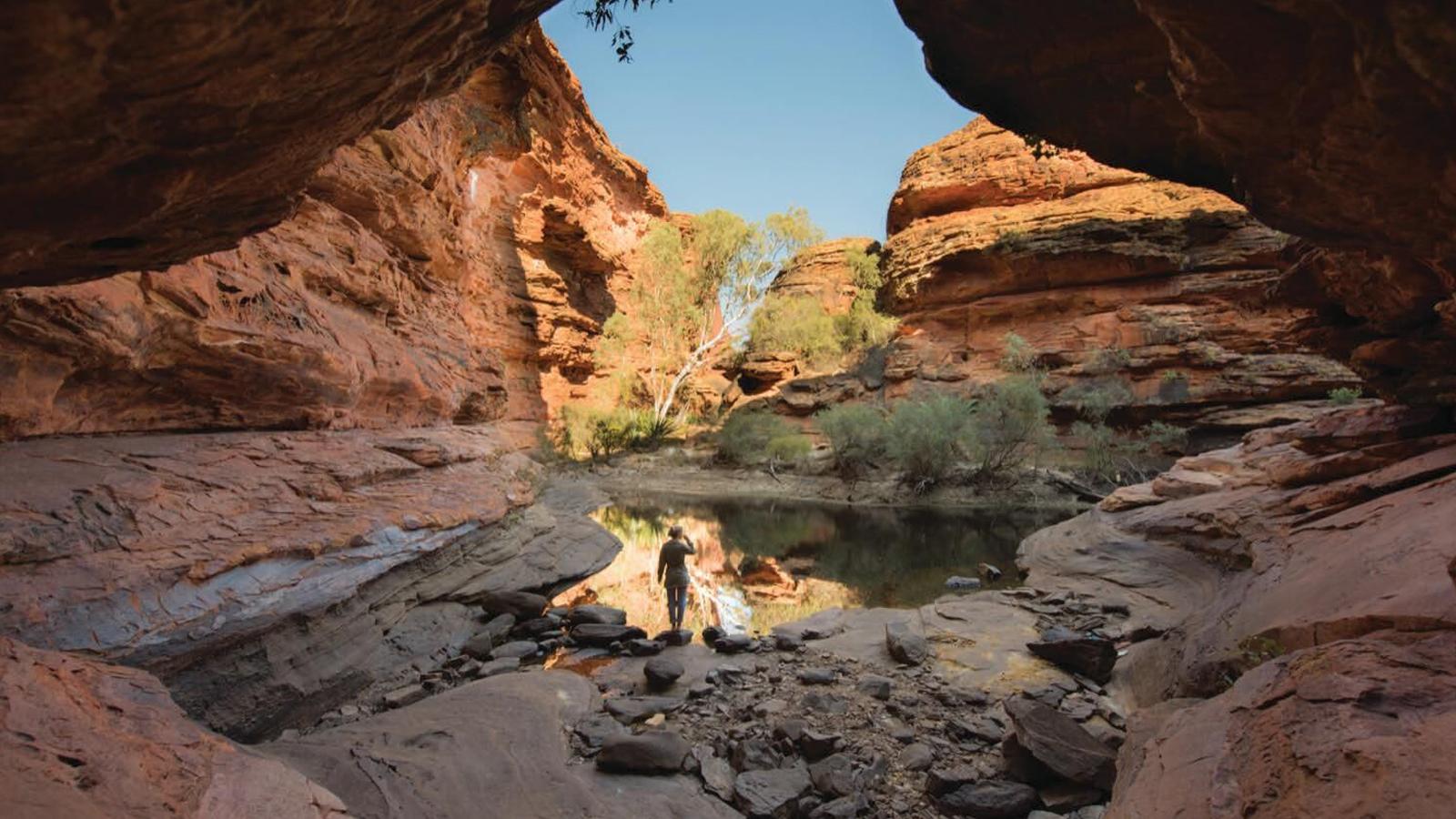 Kings Canyon Australien Reisen für junge Leute traveljunkies