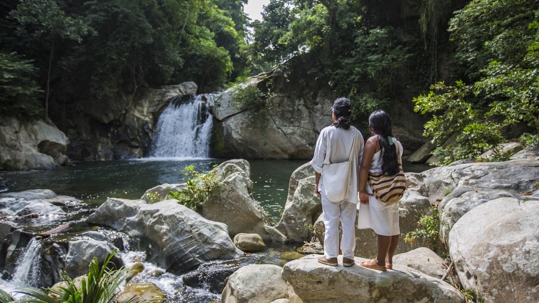 Kolumbien Aktivreise Ciudad Perdida Trekking in der Gruppe traveljunkies