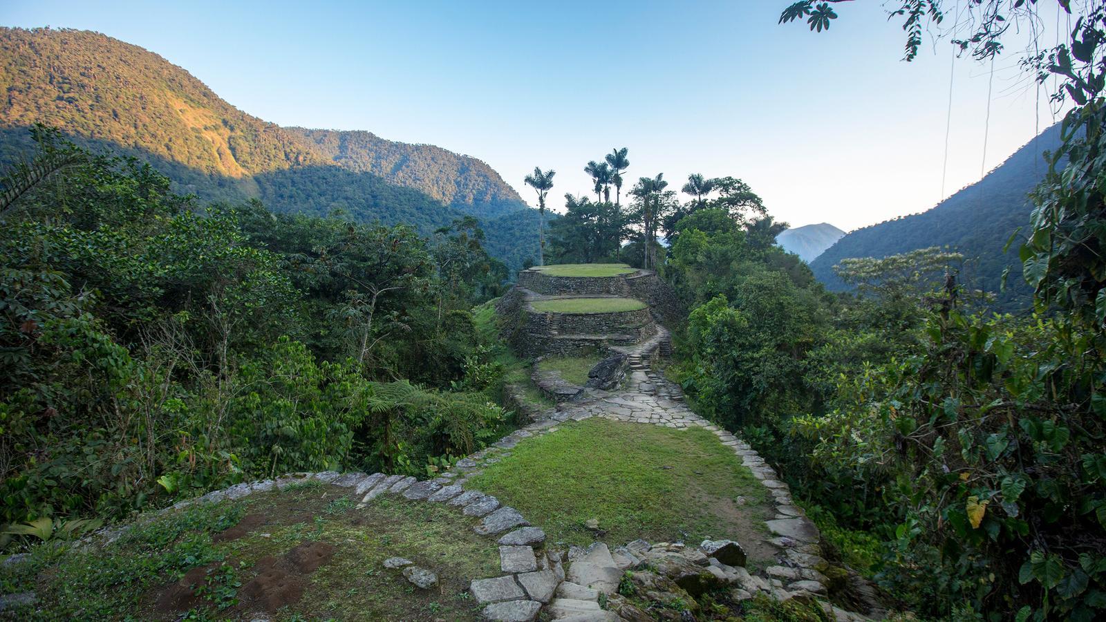 Kolumbien Aktivreise Trekking zur verlorenen Stadt in der Gruppe traveljunkies