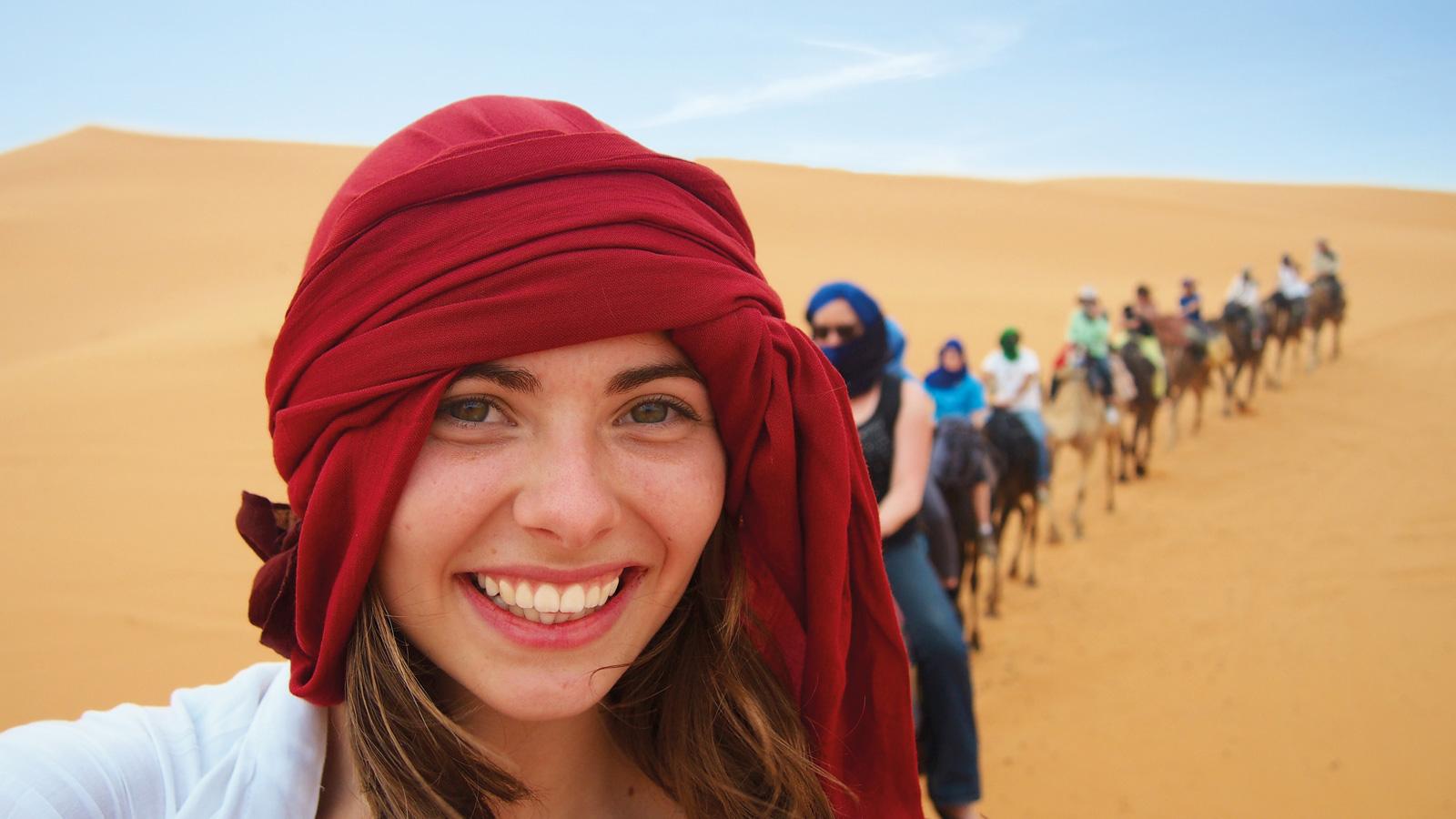 Marokko Abenteuerreise allumfassend Gruppenreise für junge Leute traveljunkies