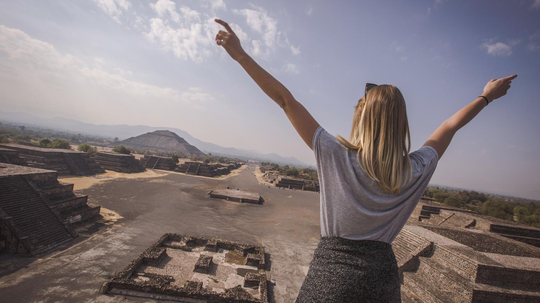 Mexiko Reisen für junge Leute in der Gruppe traveljunkies