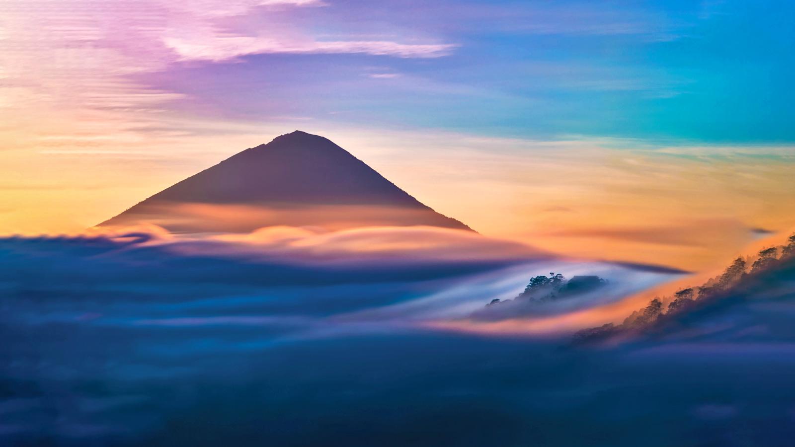 Mount Batur Bali Indonesien Reisen für junge Leute