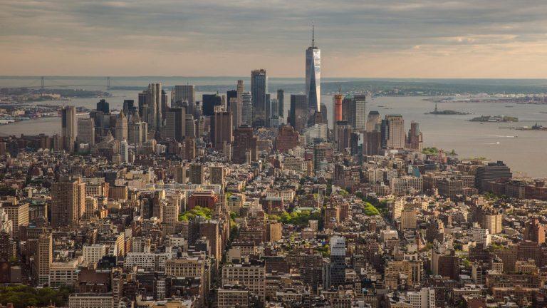 New York USA Roadtrip an der Ostküste für junge Leute in der Gruppe traveljunkies