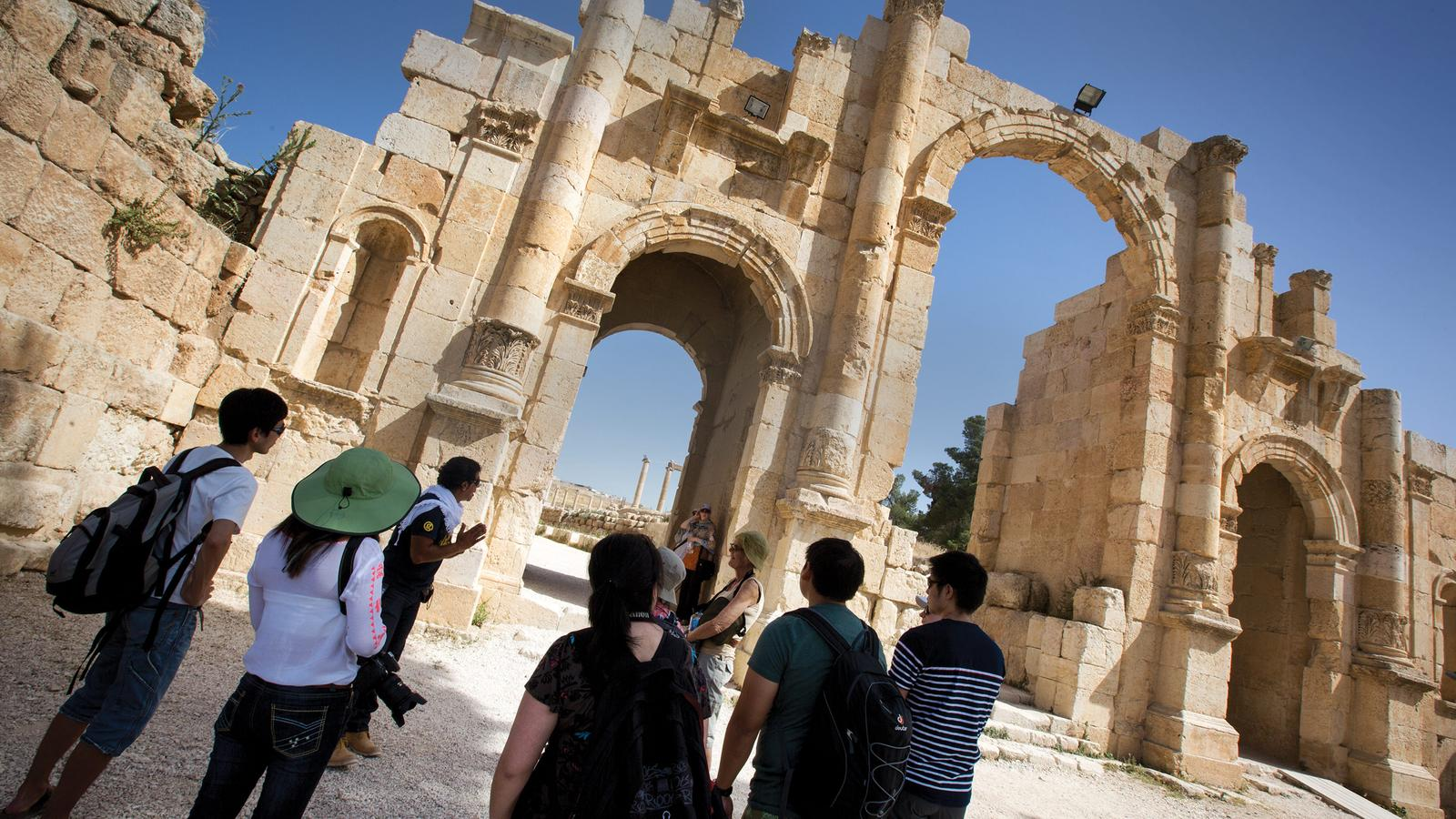 Ruinen in Jordanien