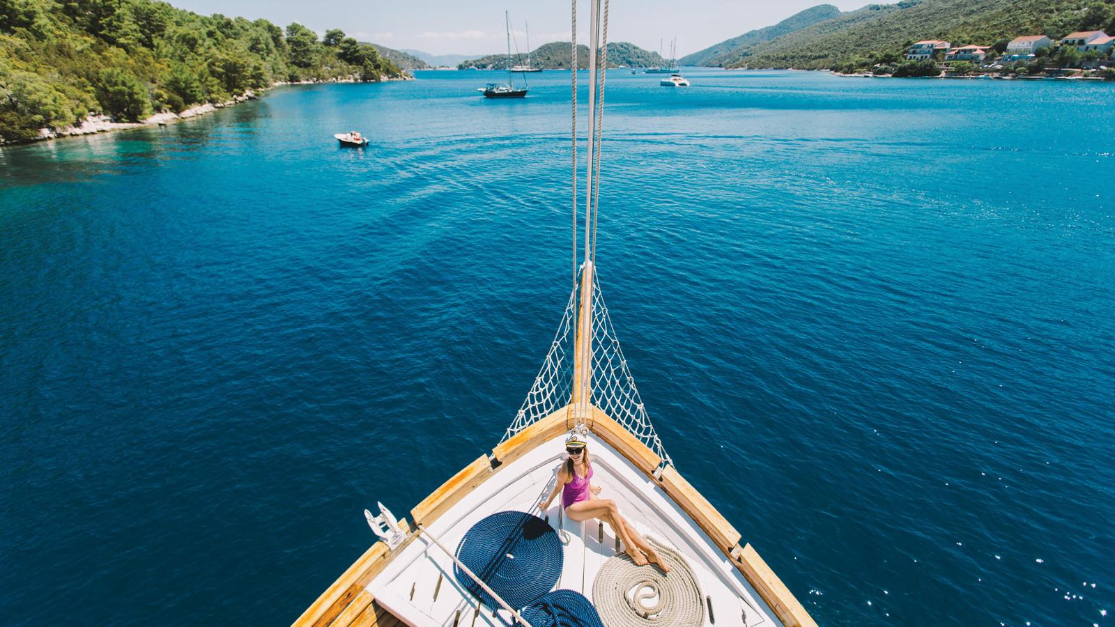 Segelabenteuer kroatische Adria: Von Split nach Dubrovnik