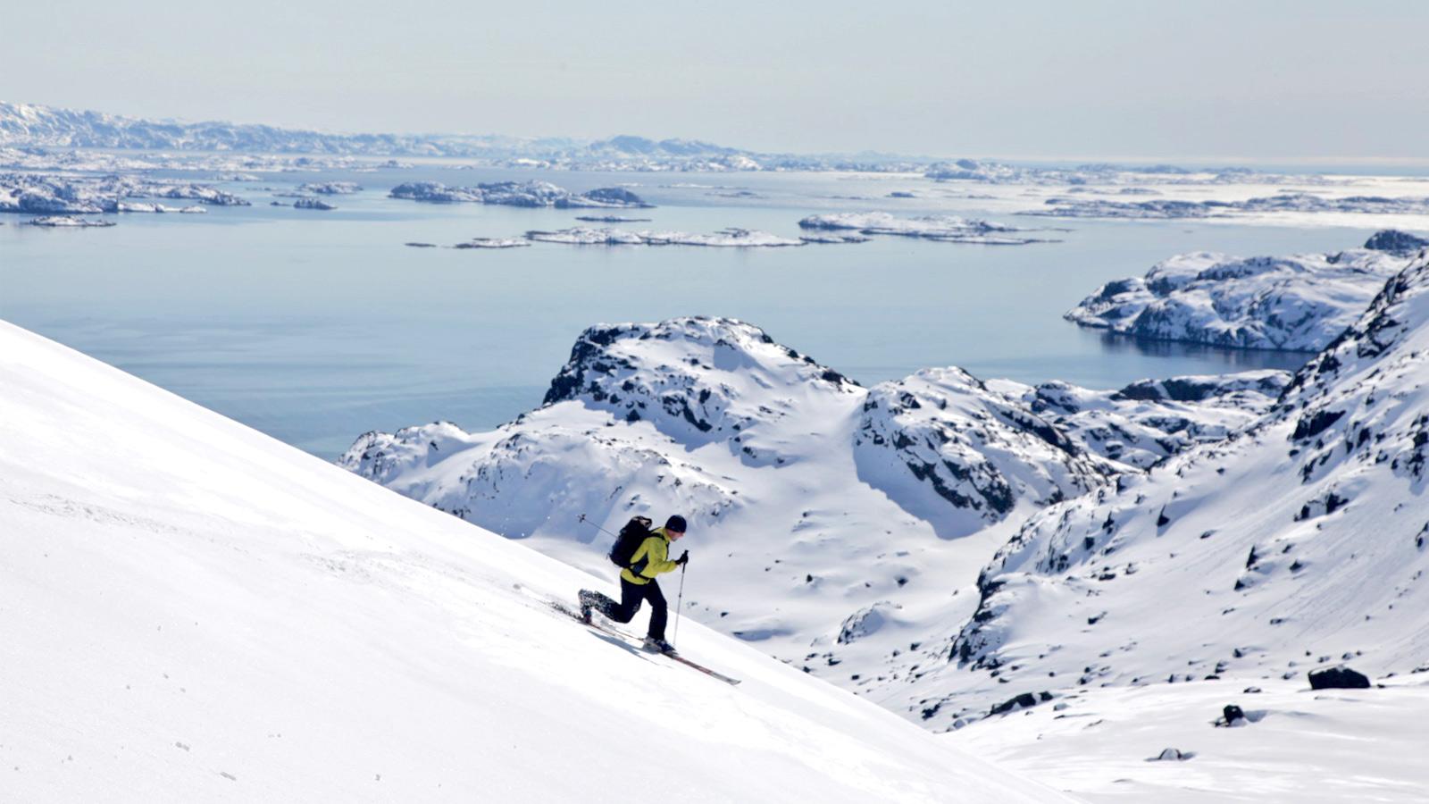 Skitouren in der Arktis auf Spitzbergen am Nordpol traveljunkies
