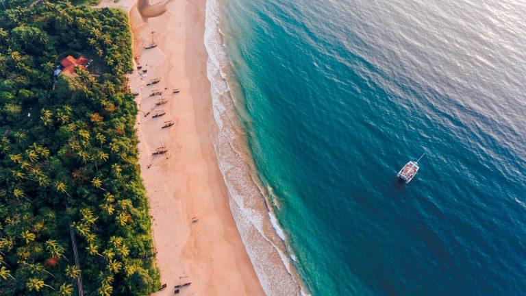 Strände Sri Lanka Segeltön traveljunkies