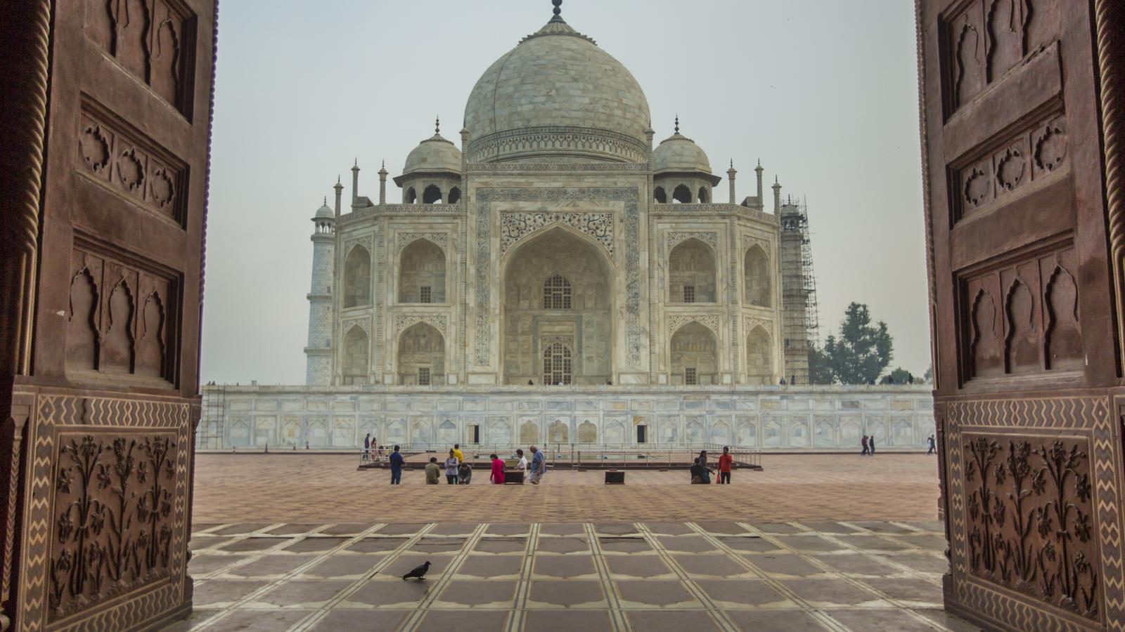 Taj Mahal Indien Kulturreise in der Gruppe National Geographic Journeystraveljunkies