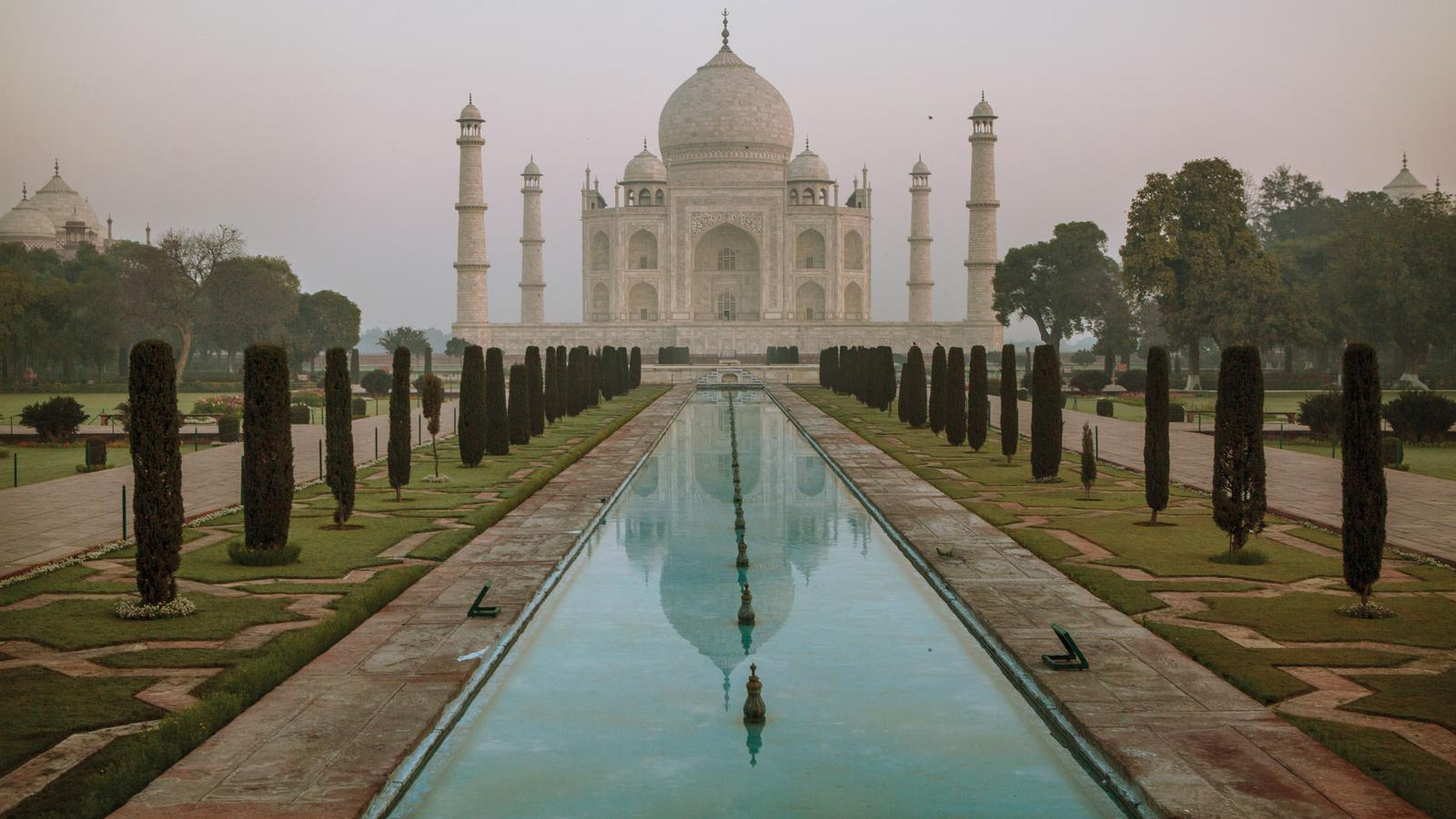 Taj Mahal Indien Kulturreise in der gruppe mit national geographic traveljunkies