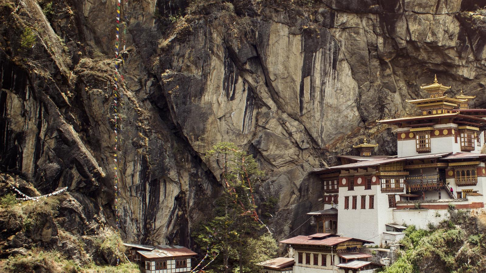 Taktshang-Kloster Tigernest Bhutan Kulturreise national geographic traveljunkies