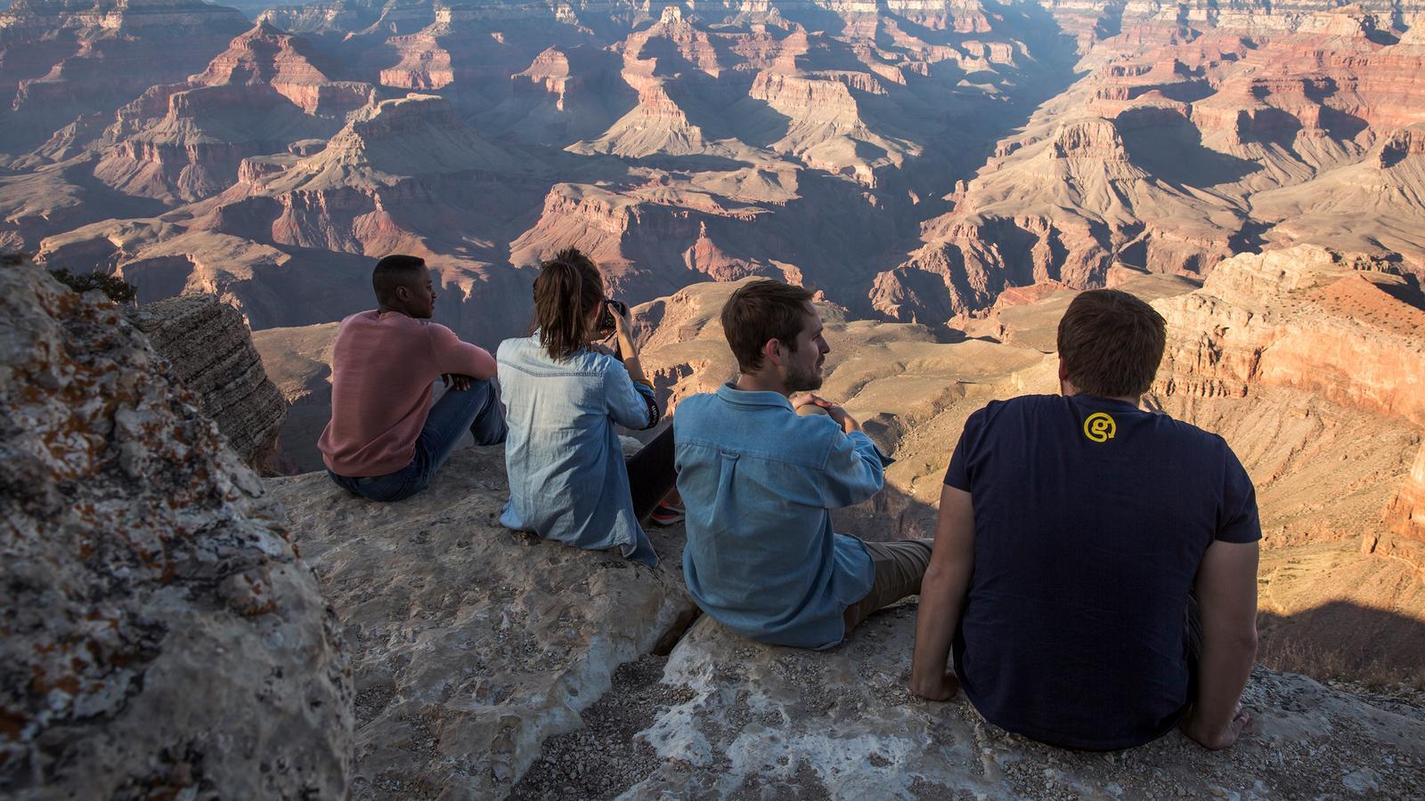 USA Camping Reisen für junge Leute in der Gruppe preiwert traveljunkies