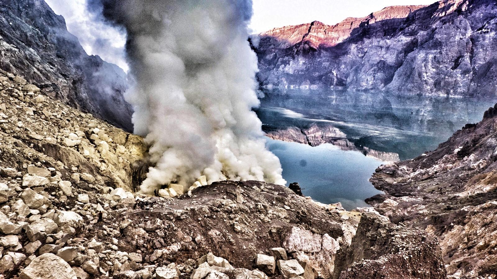 Vulkan Java Erlebnisreise Indonesien traveljunkies