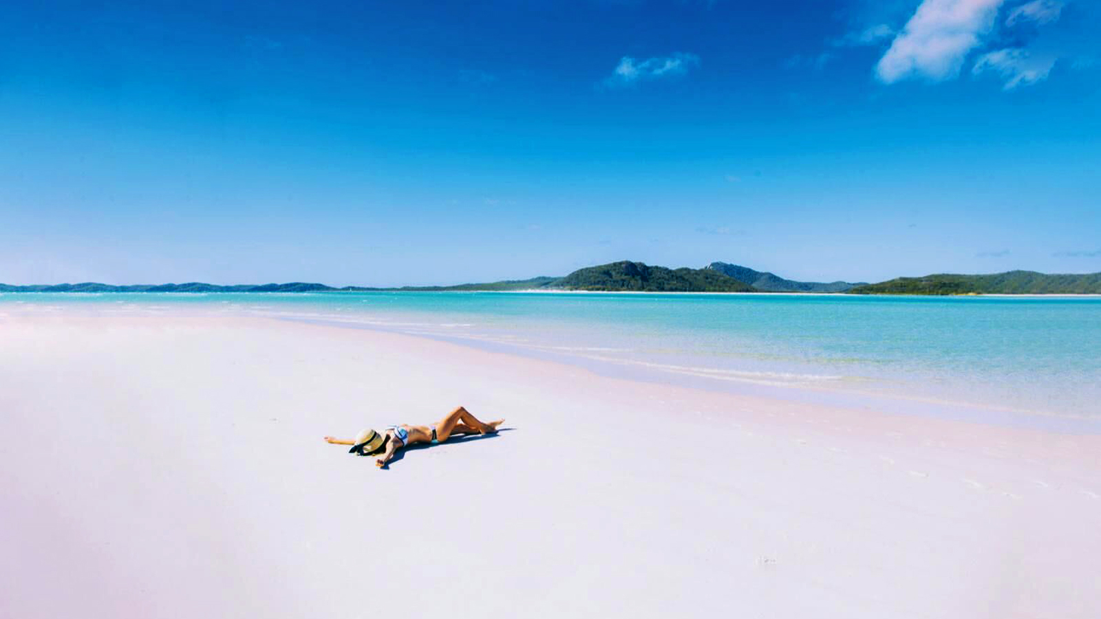 Whitehaven Beach Australien Reisen für junge Leute traveljunkies
